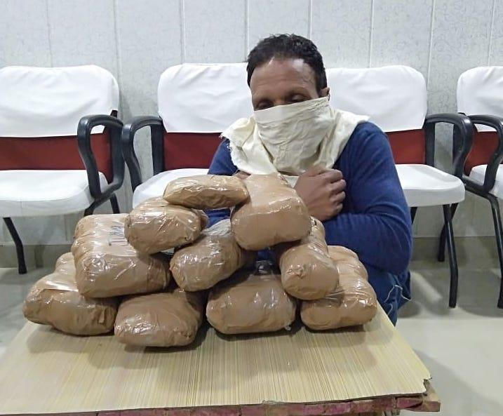 Ex-serviceman held with 9 kg charas in Nagrota - Jammu Links