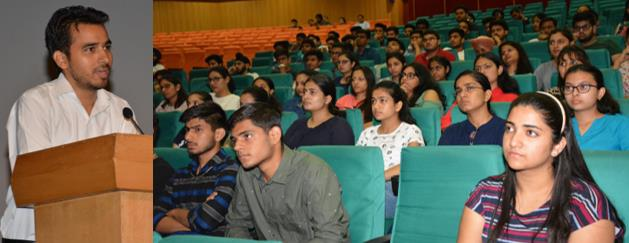 Special Lecture on NSS conducted at SMVD University - Jammu