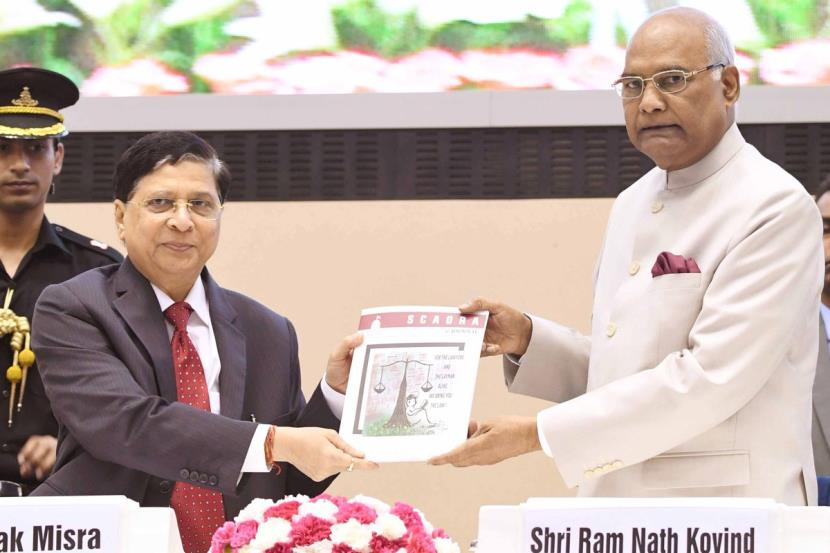 President Ram Nath Kovind said new thinking takes place on frequent adjournments