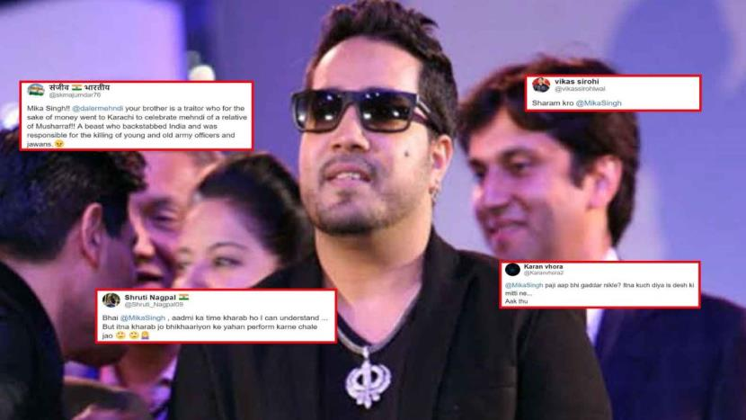 Mika Singh's performance at Karachi wedding sparks outrage - Jammu