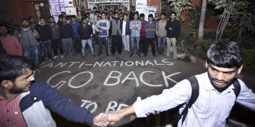 No provision in Constitution to deal with anti-nationals