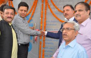 Div Com Jammu inaugurates J&K Bank CRM