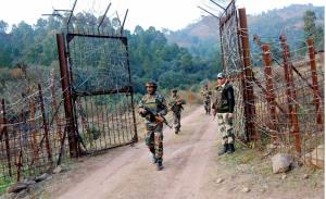 One terrorist killed as Army foils infiltration b...