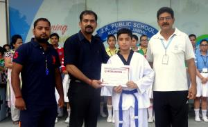 Manjot of JKPS Kunjwani passes Blue Belt grading ...