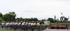 Army conducts Cycling Expedition in Reasi on Inde...
