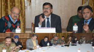 Advisors, CS review status of Srinagar-Jammu Nati...