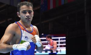 Amit Panghal settles for historic silver at World...