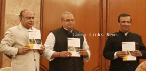 Governor Malik releases Prof Mattoo's new book