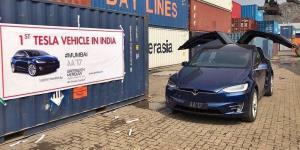 'First Tesla Model X SUV
