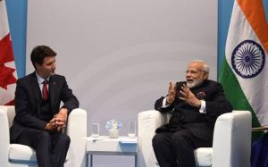 Look forward to meeting Trudeau, says PM Modi ami...