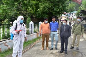 Sanitization drive launched in Kupwara