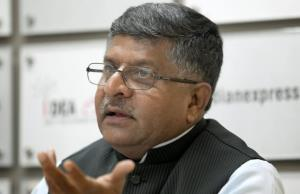 Prasad meets key IT ministry officials to discuss...