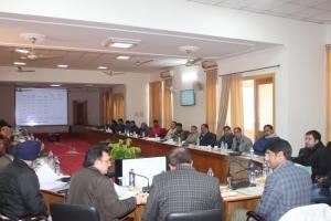 DDC Rajouri reviews progress of development works