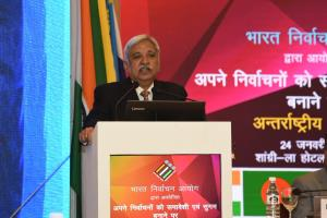 Not going back to era of ballot papers: CEC