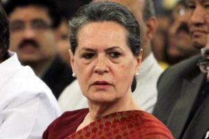 Congress meets at Sonia