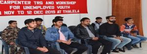 Army organises carpenter training workshop for un...