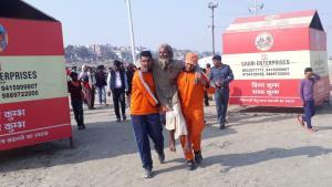 Swachhta Doot go extra mile at Kumbh Mela 2019