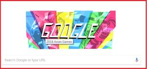 Google Doodle marks commencement of Asian Games 2...