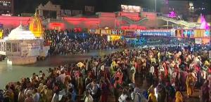 Sea of devotees throng Haridwar for Shahi Snan at...