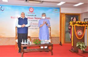 Union Railway Minister launches Rail Kaushal Vika...