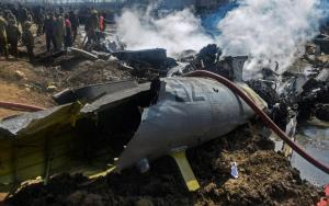 IAF chopper in Budgam crashed on Feb 27 after hit...