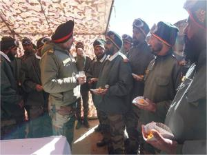 Northern Army Commander reviews operational prepa...