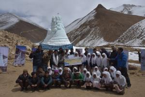 Shara Ice Stupa fetches first prize of Rs 5 lakh