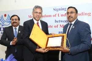 IIM Jammu, ICAI sign MoU