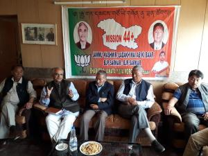 Development of Leh BJP