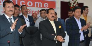 Union MoS Dr Jitendra Singh e-inaugurates PMGSY r...