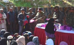 In reach out to madrassa students, Army distribut...