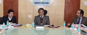 Advisor Ganai chairs BoDs meeting of SC, ST & BC ...