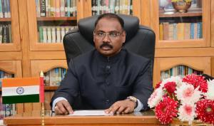 Jammu and Kashmir Lieutenant Governor GC Murmu re...