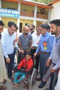 DDC Anantnag distributes 161 aids, appliances amo...