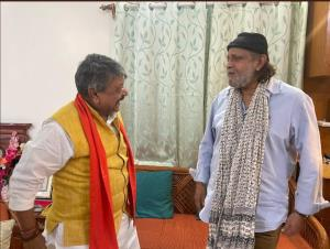 Actor Mithun Chakraborty joins BJP ahead of PM