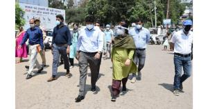Div Com Jammu visits SDH Ramnagar; directs for ac...