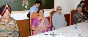 Governor, Union Defence Minister review security ...