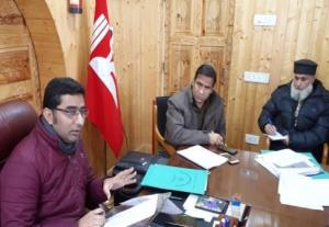 DC Bandipora reviews District Election Management...
