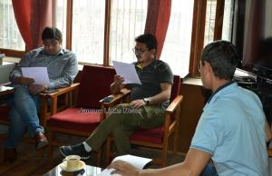 Randomization of POs, Polling Officers held at Ka...