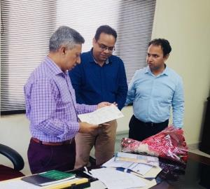 Vaid reviews functioning of Transport Department