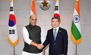Rajnath holds telephonic conversation with South ...