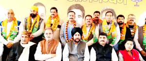 Five independent councilors of Udhampur join BJP