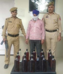 Man arrested with illicit liquor