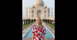 Ivanka Trump finds Taj Mahal
