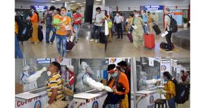 1574 passengers arrive at Jammu, Srinagar Airport...