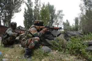 Terrorist killed, two army men injured in encount...