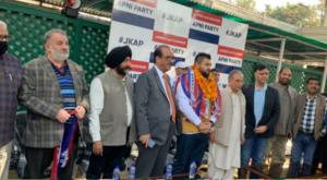Brahman Sabha leader joins JKAP in Jammu
