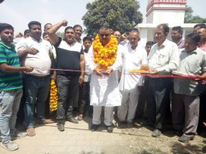 Ganga launches Rs 20 lakh blacktopping work