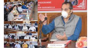 Advisor Baseer Khan visits Sopore, meets public d...