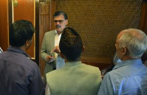 Advisor Kumar hears public delegations, individua...